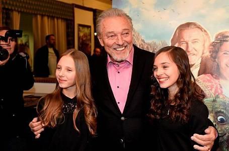 Karel Gott s dcerami