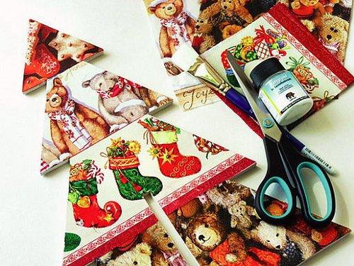 Stromek z překližky – vánoční překvapení