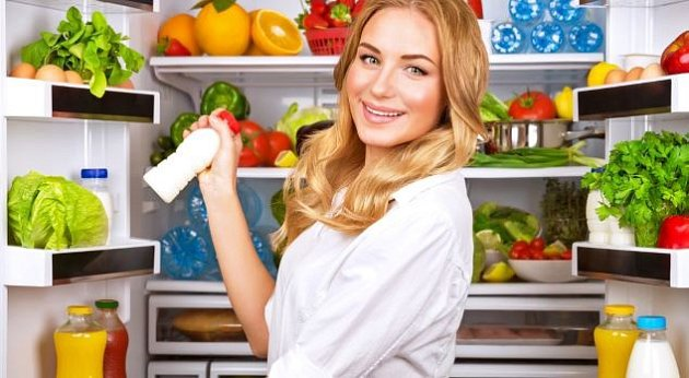 Chyby při skladování potravin v lednici