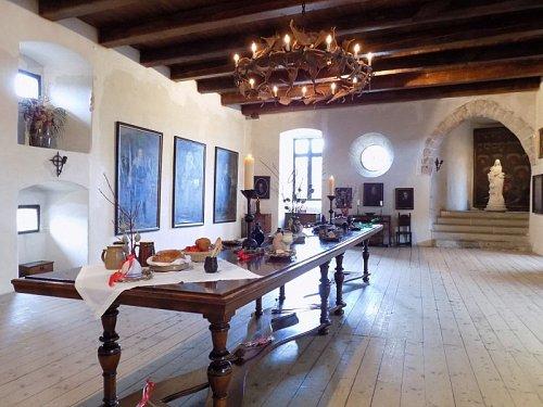 Interiér hradu