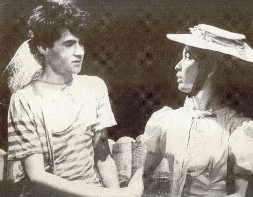 Petr Novotný - ze hry Tom Sawyer, kde jsem hrál Huckleberryho Finna se mnou Hana Maciuchová)