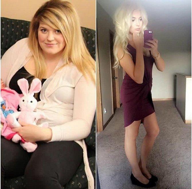 Po porodu a stoupnutí na váhu se rozhodla pro změnu. Vynechala, ze svého jídelníčku veškerý cukr a omezila nezdravé sacharidy.