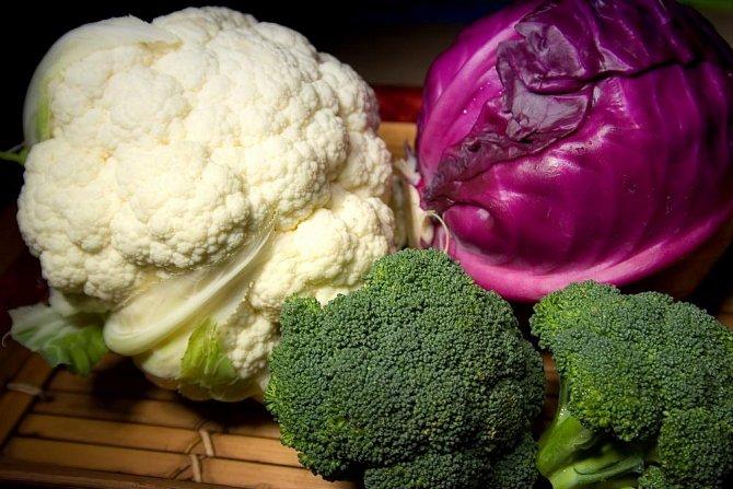 Zelenina s vysokým obsahem vitaminu C