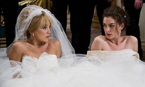 Kate Hudson, Anne Hathaway, Válka nevěst