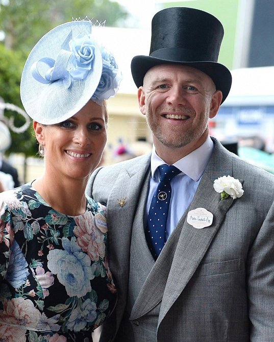 Zara Tindall s manželem