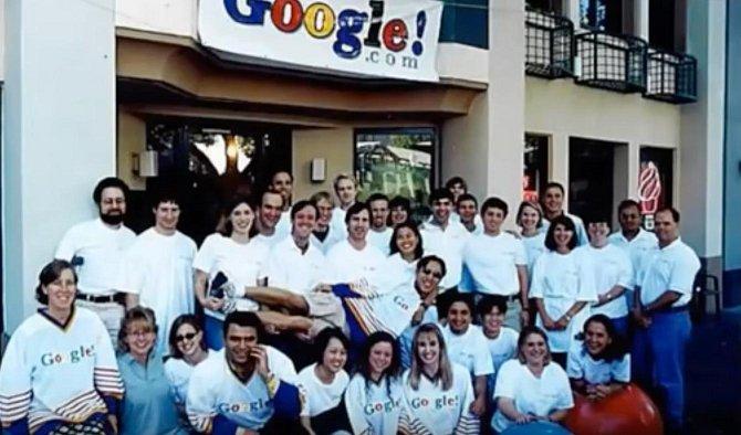 První tým Googlu