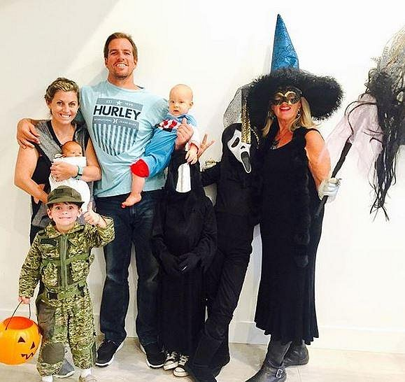 Halloween rodina vždycky ráda slavila.