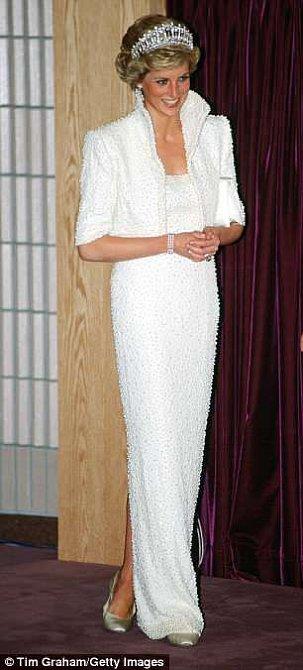 Princezna Diana byla půvabná.
