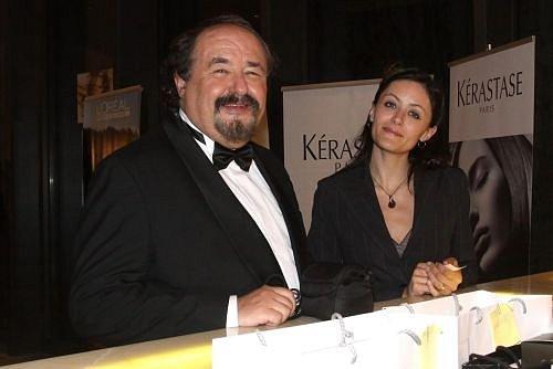 Petr Novotný s dcerou