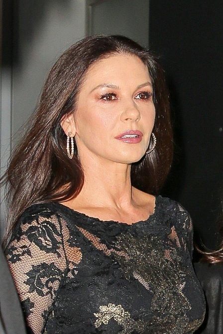 Podzimní typ je Catherine Zeta-Jones.