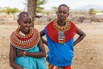 Ilustrační foto - Dvě ženy v Keni