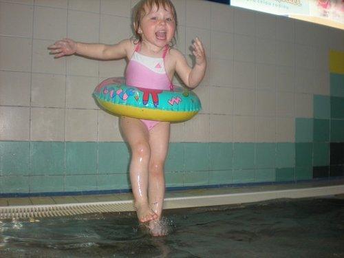 Baletka na vodě
