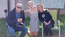 Pavel Zedníček se při natáčení setkal s dcerou i vnučkou.