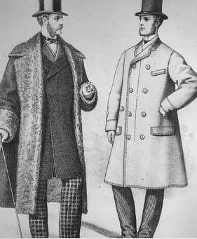 Pánové v kabátech napuštěných zinkem.