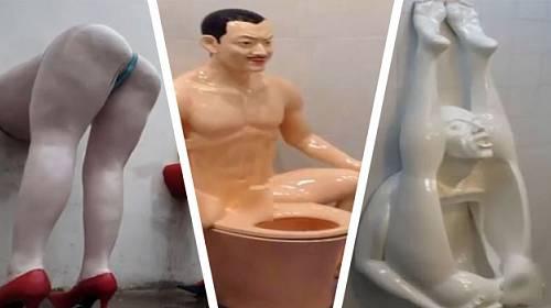 Nejstrašnější záchody světa! Do některých by vám stud nedovolil se ani vymočit!