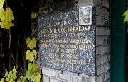 Dům, kde Milada Horáková žila.