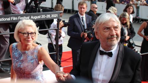 Miroslav Donutil s manželkou Zuzanou Donutilovou