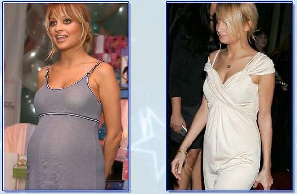 Nicole Richie měsíc po porodu