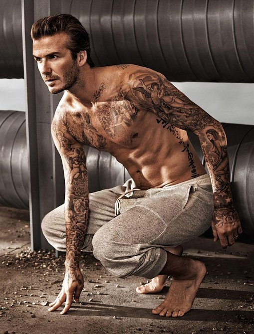 Velká Británie - David Beckham