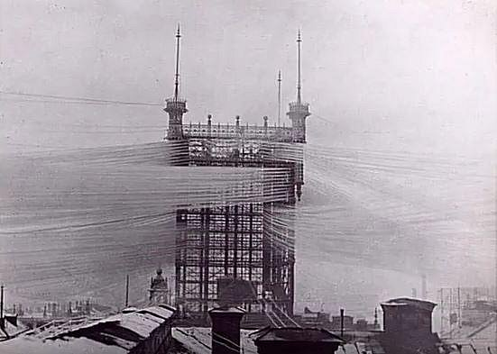 Telefonní stanice ve Stockholmu, která spojovala 5000 linek.
