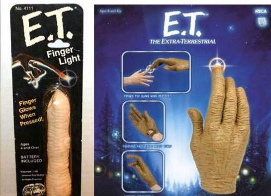 Prst E.T. mimozemšťana