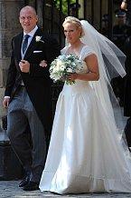 Další vnučka královny Alžběty II. Zara, se vdávala v roce 2011.