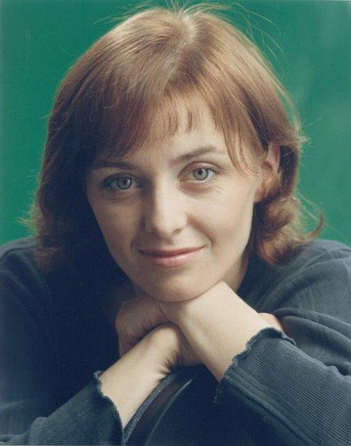 Veronika Žilková se svou přirozenou barvou vlasů.