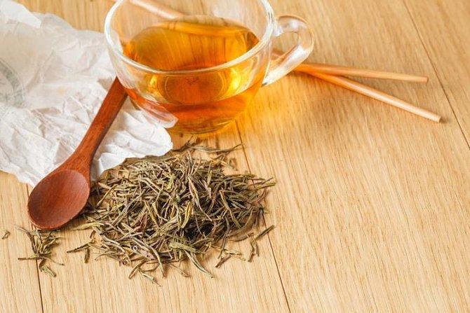 Obklad z čaje