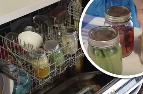 Jak zavařovat v myčce na nádobí