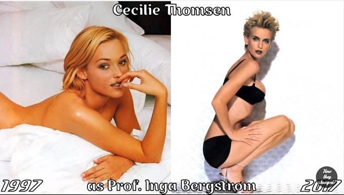 Herečka Cecilie Thomsen coby profesorka Inga Bergstrom