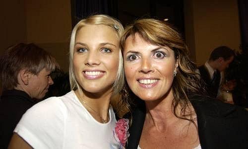 Klára Medková s maminkou