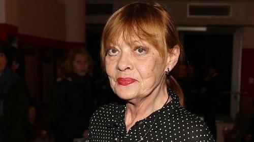 Herečka Jana Šulcová