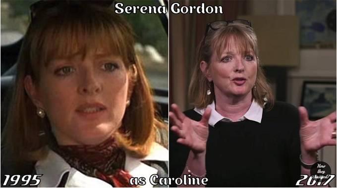 Herečka Serena Gordon coby Caroline
