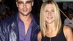 Jennifer Aniston a Brad Pitt v dobách svých začátků.