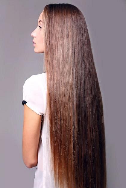 Omyl číslo 1 - extrémně dlouhé vlasy
