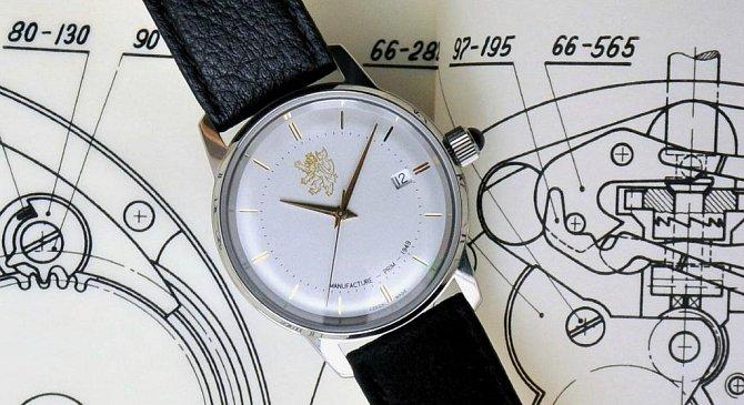<p>České hodinky Prim, které dostal při návštěvě ČR americký prezident Barack Obama </p>