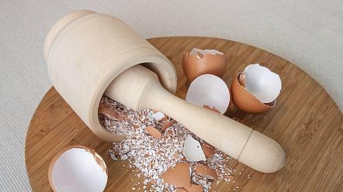 Vaječné skořápky lze využít mnoha způsoby