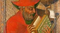 Mistr Theodorik - malíř neznámého původu, který působil jako dvorní malíř Karla IV.