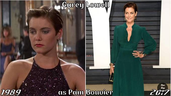 Herečka Carey Lowell coby Pam Bouvier
