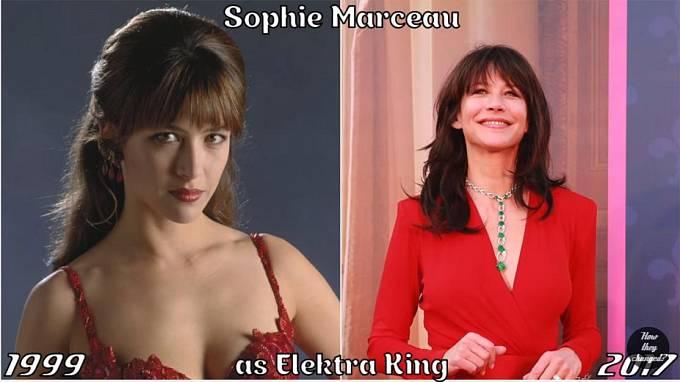 Herečka Sophie Marceau coby Elektra King