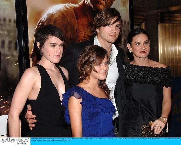 S manželkou a dvěma nevlastními dcerami