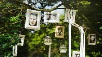 Svatební fotografie Ondřeje Brzobohatého a Tatiany Kuchařové