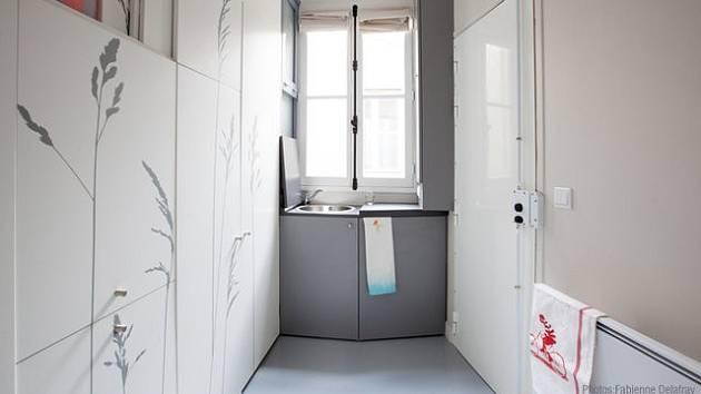 Pařížský byteček o 8 m čtverečních