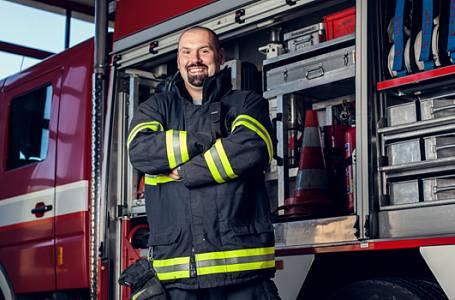 """""""Jste machři!"""" vzkázali Češi v hlasování hasičům"""