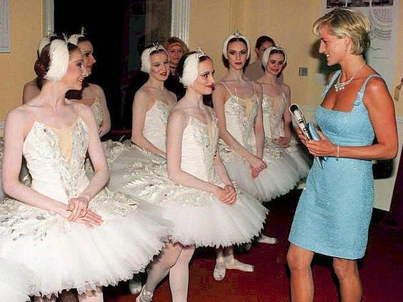 K baletu měla princezna Diana velmi blízko.