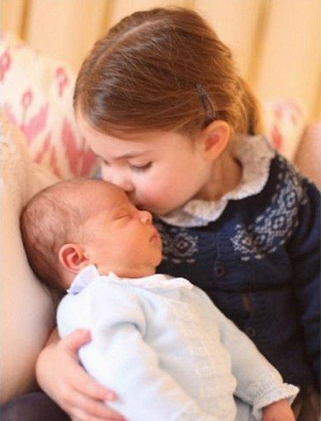 Princezna Charlotte s bratříčkem Louisem