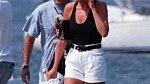 Diana se svým přítelem řeckým miliardářem Dodim al Fayedem
