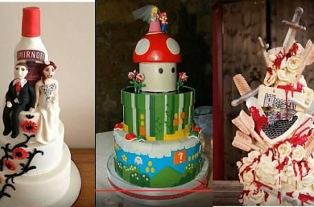 Nejulítlejší svatební dorty
