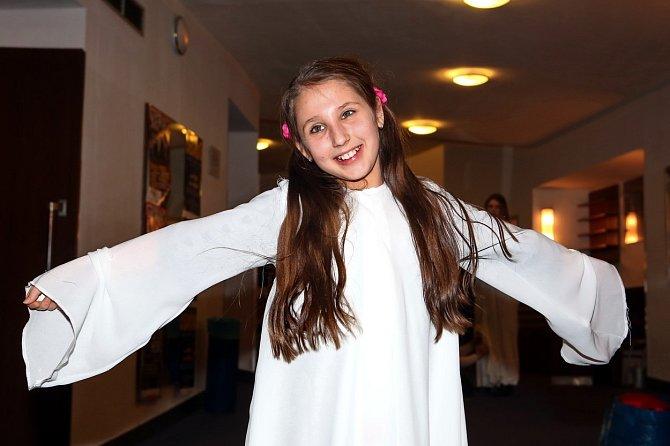 Natálie Grossová začala s herectvím brzy.