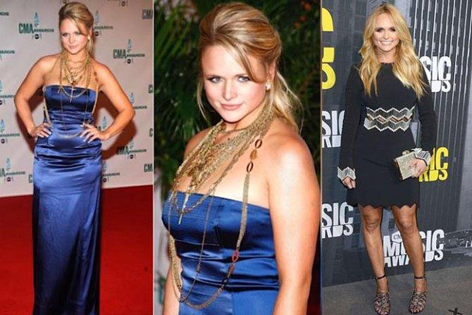 Miranda Lambert před a po